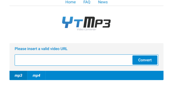 ytmp3cc interface