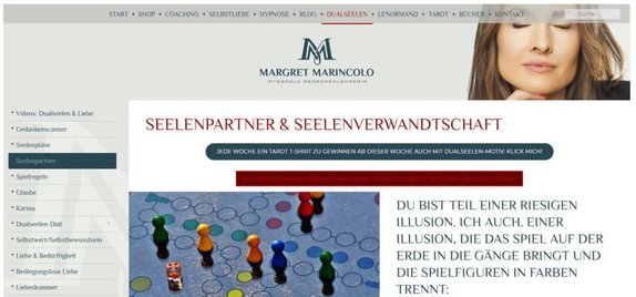 Margret Marincolo ist integrale Menschenlehrerin und Expertin für Dualseelen