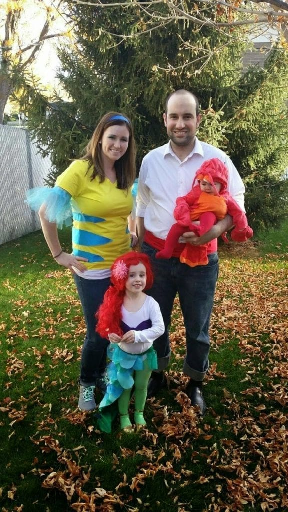 The Little Mermaid Family Costume