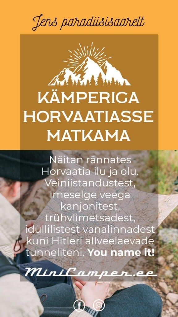 Horvaatiasse camperiga