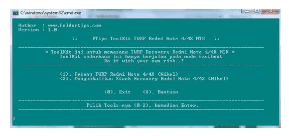 Cara Instal TWRP dan Root Redmi Note 4