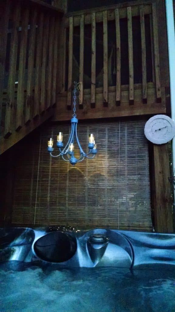 Lighten up your outdoors with a DIY Solar Chandelier