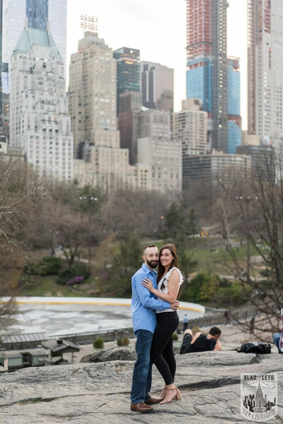 Photo 27 Central Park Marriage Proposal at The Lake Viewing Area | VladLeto