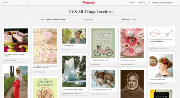Example Pinterest Board
