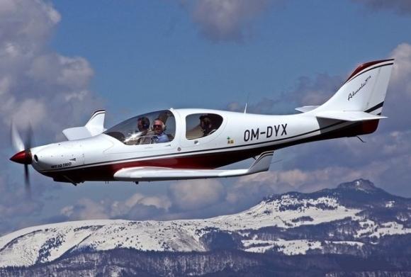 Полёт на самолёте WT 10 над Буковелем
