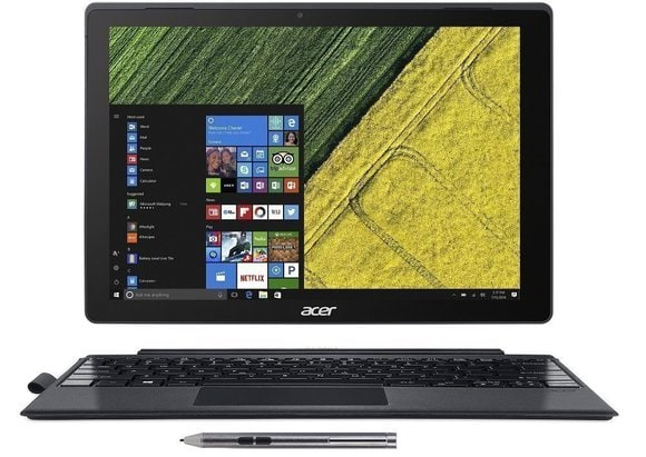 Acer Switch Alpha 12-inch 2 in 1 Detachable Laptop