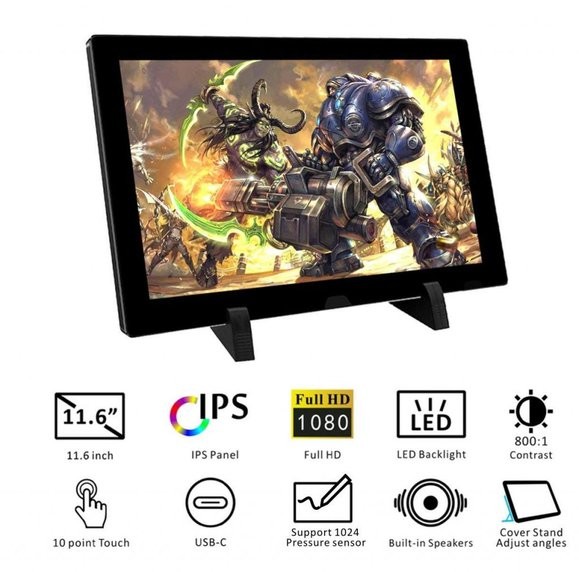 EleDuino Touchscreen Portable Monitor