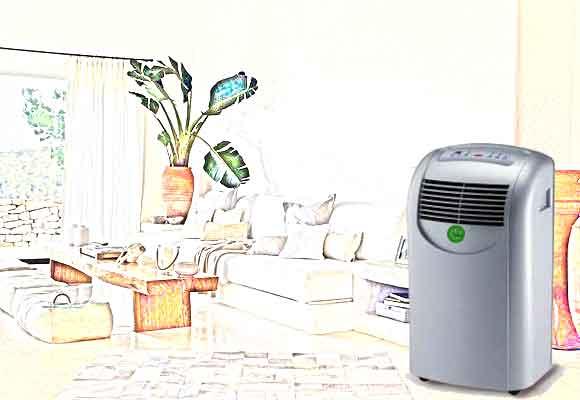 Aire aqondicionado portatil