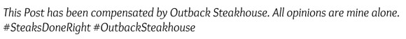 Outback Steakhouse Disclosure Statement