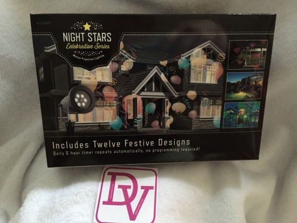 year round, holiday decor, year round holiday decor, easy decorating, illumination, plug in, plug and go, celebration series, night stars celebration series, twelve festive designs, birthday, valentines, stake in ground, power on, position, spring, summer, winter, fall, all occasion, lighting, dana vento, buynightstars, dana vento, decor, diy blogger