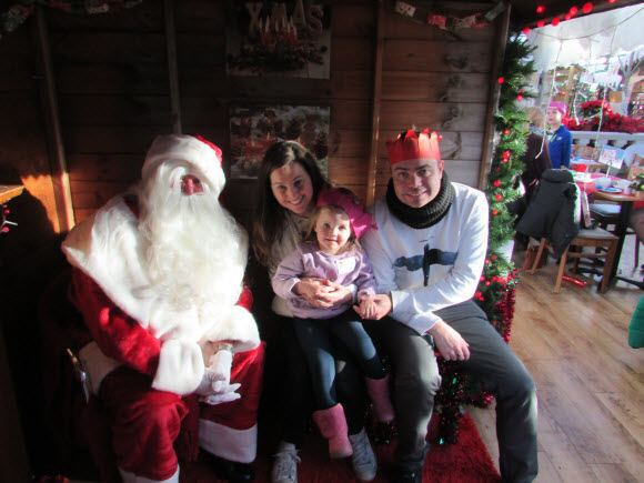 Review Breakfast With Father Christmas At Wyevale Garden Centre