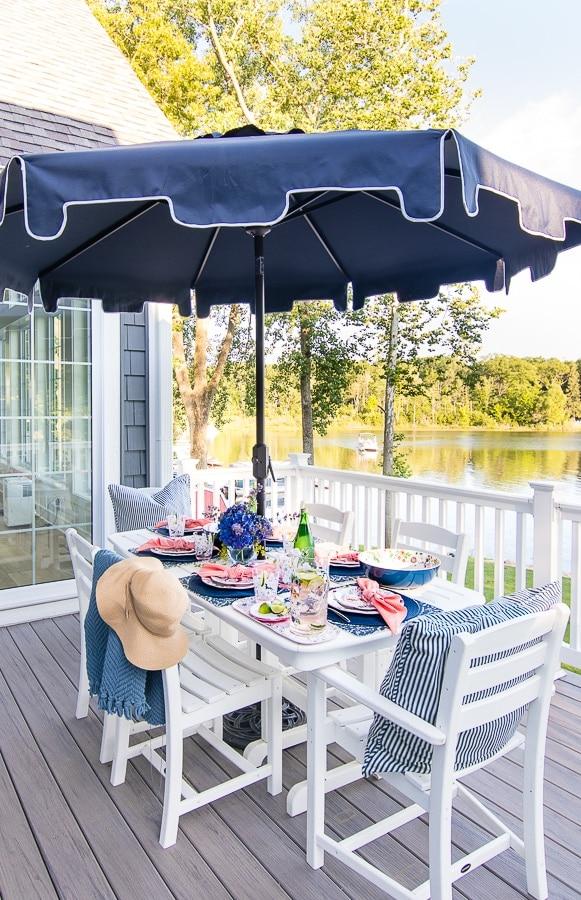 outdoor furniture spend vs splurge