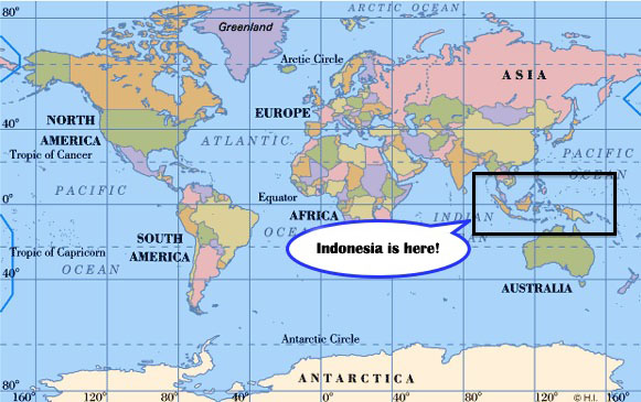 Where Is Indonesia