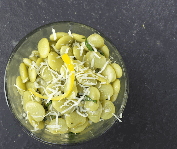 Lemony Lima Bean Summer Salad