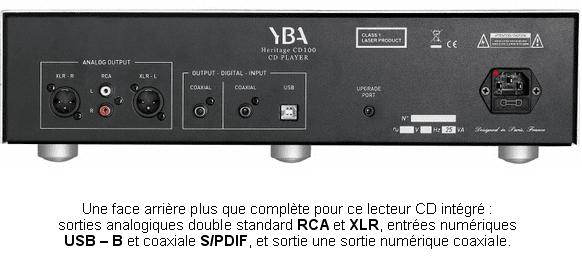 YBA CD 100 verso