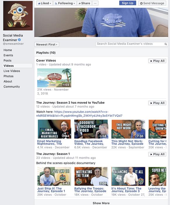 best Facebook video format