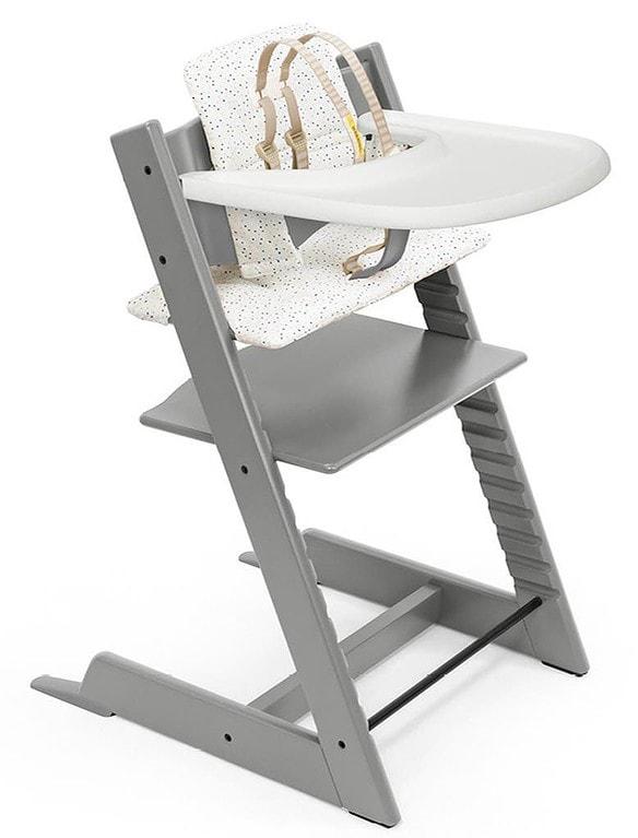 Stokke Tripp Trapp Chair, Baby Set, Cushion & Tray Set