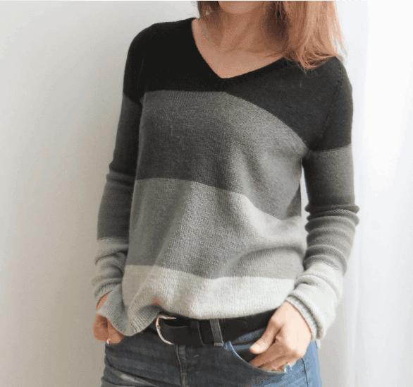 Jen knitted sweater Love Knitting