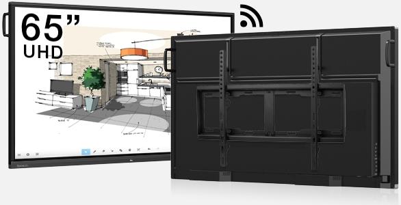 écran interactif tactile android classe à distance