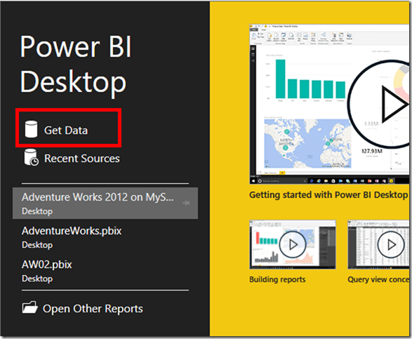Power BI Desktop 01