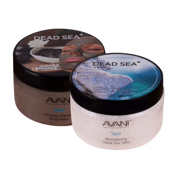 Revitalizing Dead Sea Salts + Mineral Therapy Mud Mask