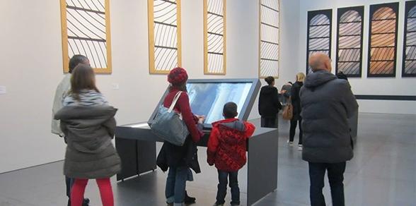 écran affichage dynamique secteur musée