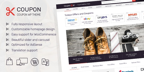 MyThemeShop Coupon WordPress Theme Review