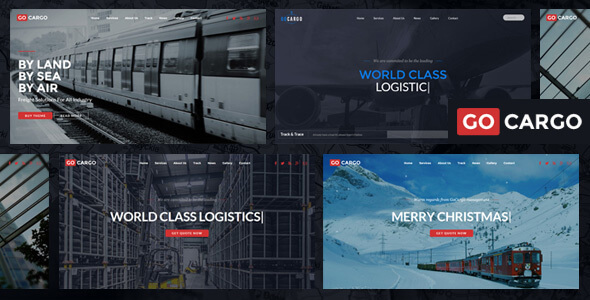 GoCargo – Freight, Logistics & Transportation WordPress Theme