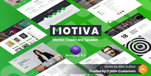 Motiva – Mentor, Coach and Speaker Website Template