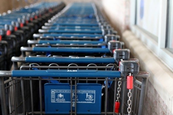 aldi shopping carts