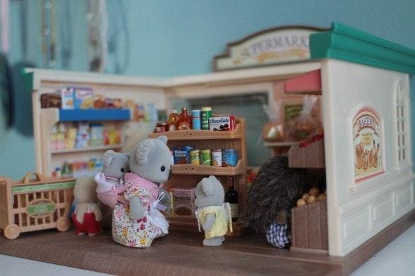 calico critter supermarket