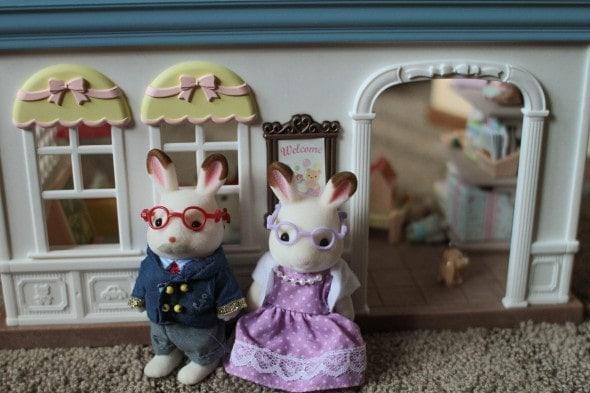 rabbit grandparents calico critters