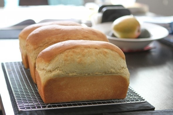 homemade egg bread