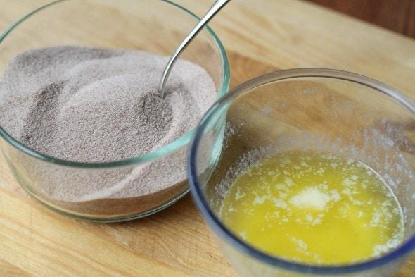 cinnamon sugar for dipping