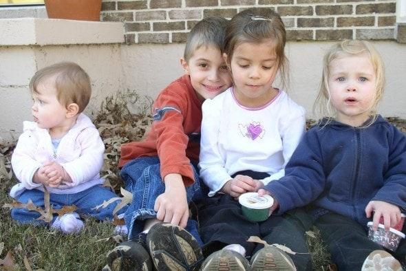 Kristen's kids