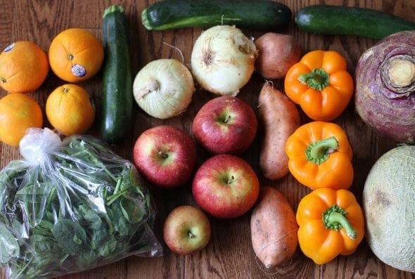 Hungry Harvest produce