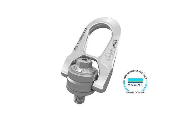 CODIPRO: Double swivel lifting ring for offshore DSR-OS.DSR