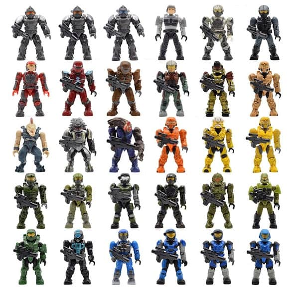 AliExpress Lego Replica Lego Alternative Lego Clone Minifigs Bulk Purchase FigFun Toy Store 2 Halo Hero Toys