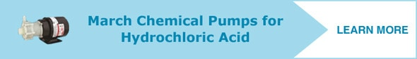 Learn more about pumps for hydrochloric acid