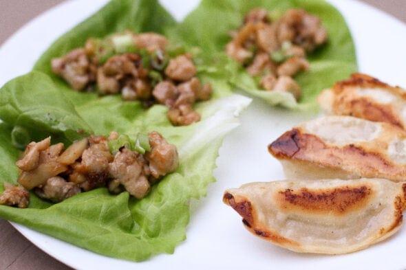 chicken thigh lettuce wraps