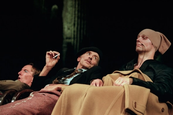 Dominique Mercy, Lutz Förster, Michael Strecker in Ahnen (photo: Laszlo Szito)