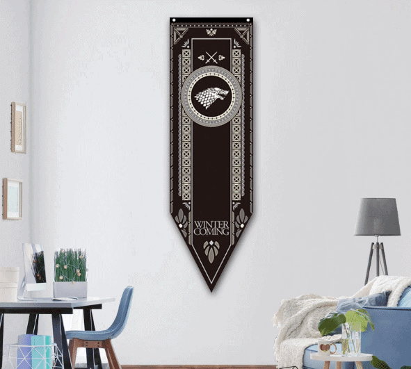 BANNER FLAGS game of thrones