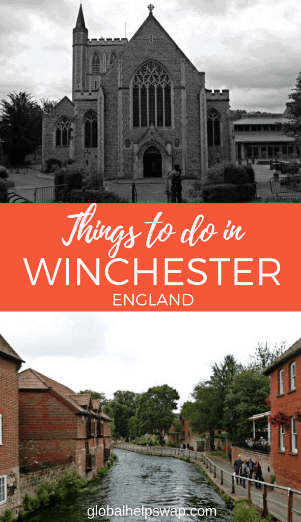 Winchester in England is a great city with a lot of history.