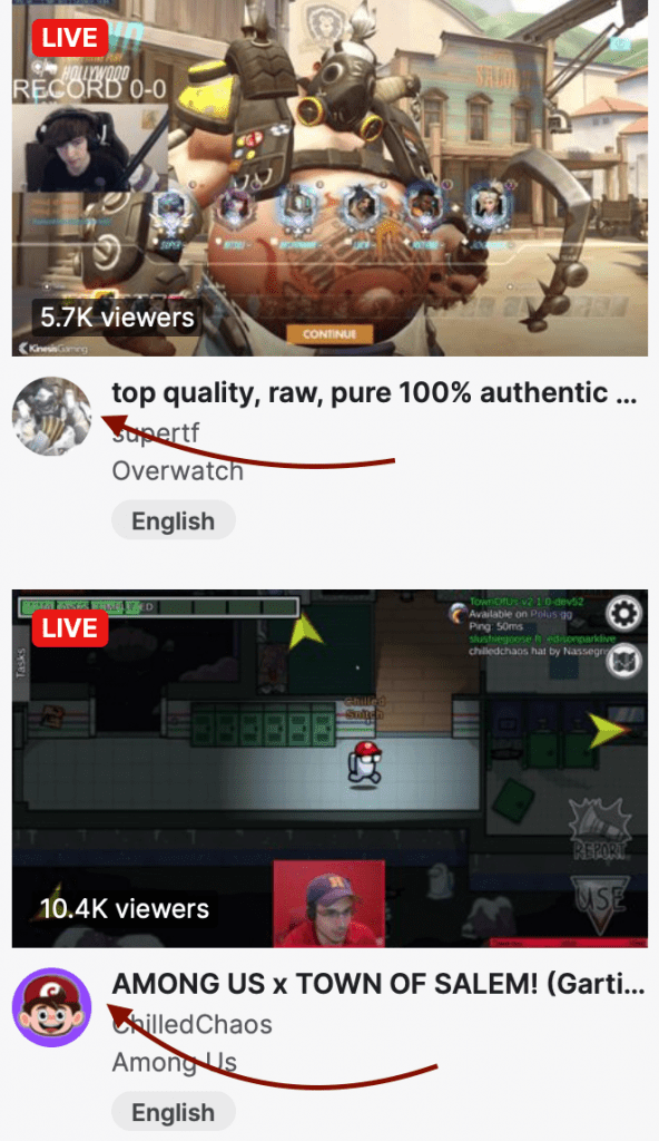 Twitch profile picture example