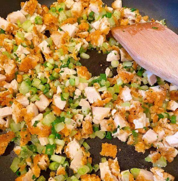 Egg roll filling for egg rolls