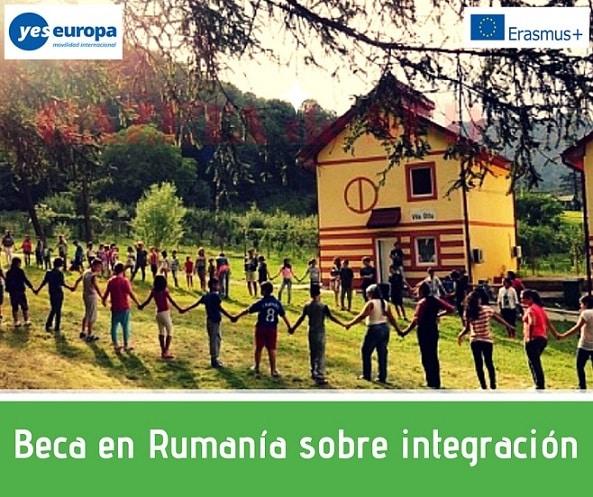 Beca en Rumanía sobre integración