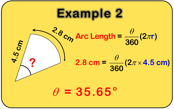 arc lengths 2