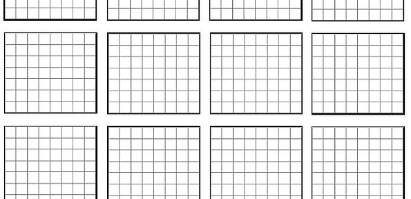 blank grids 1