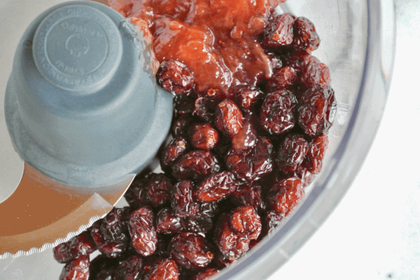 The filling for these decadent cookies is easily made in the food processor.