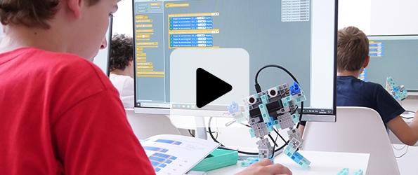 école de programmation algora robotique scratch